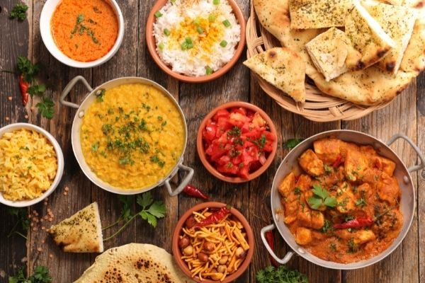good food examples, table of food