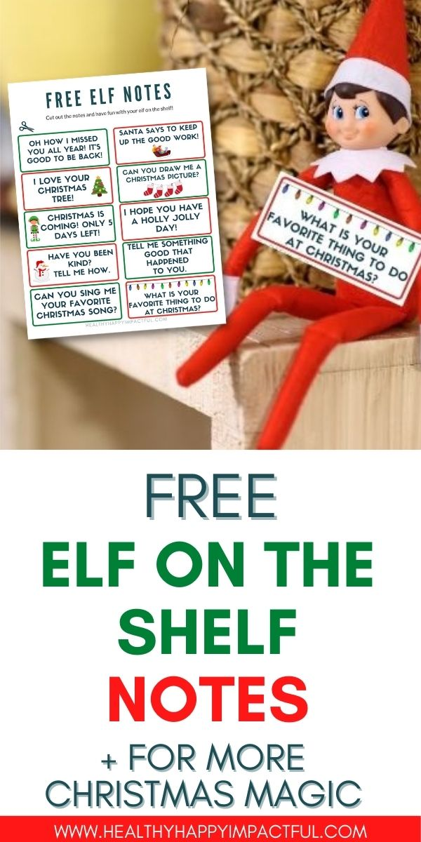 Pin for elf on the shelf notes goodbye, hello, jokes, and everything in-between