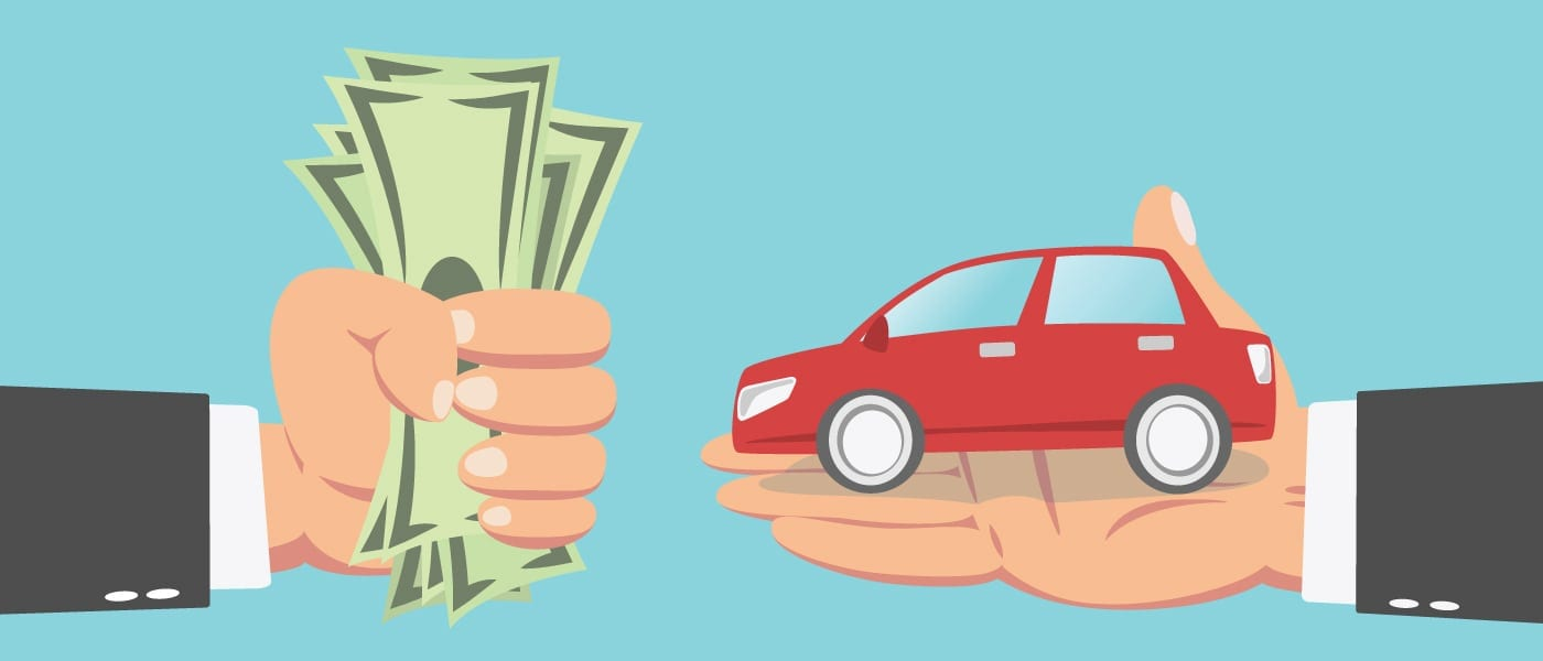 Trading a car with bad credit