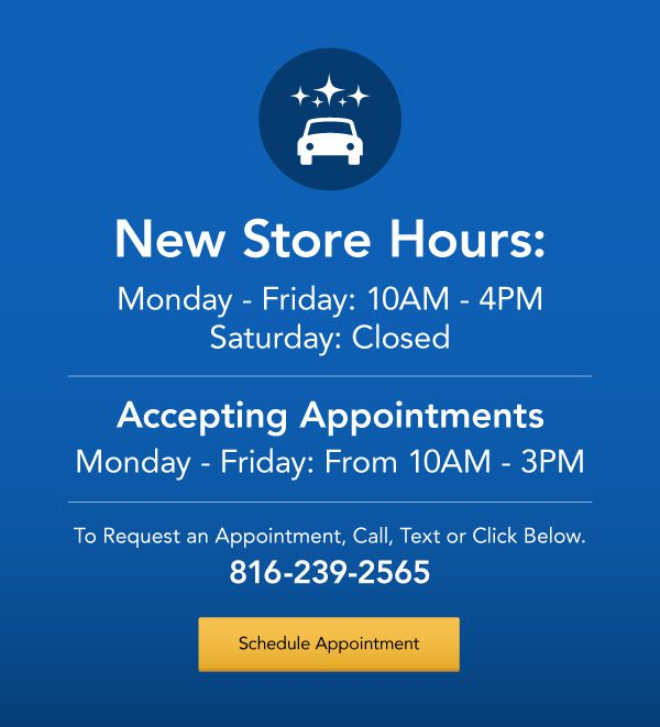 New Store Hours Sign