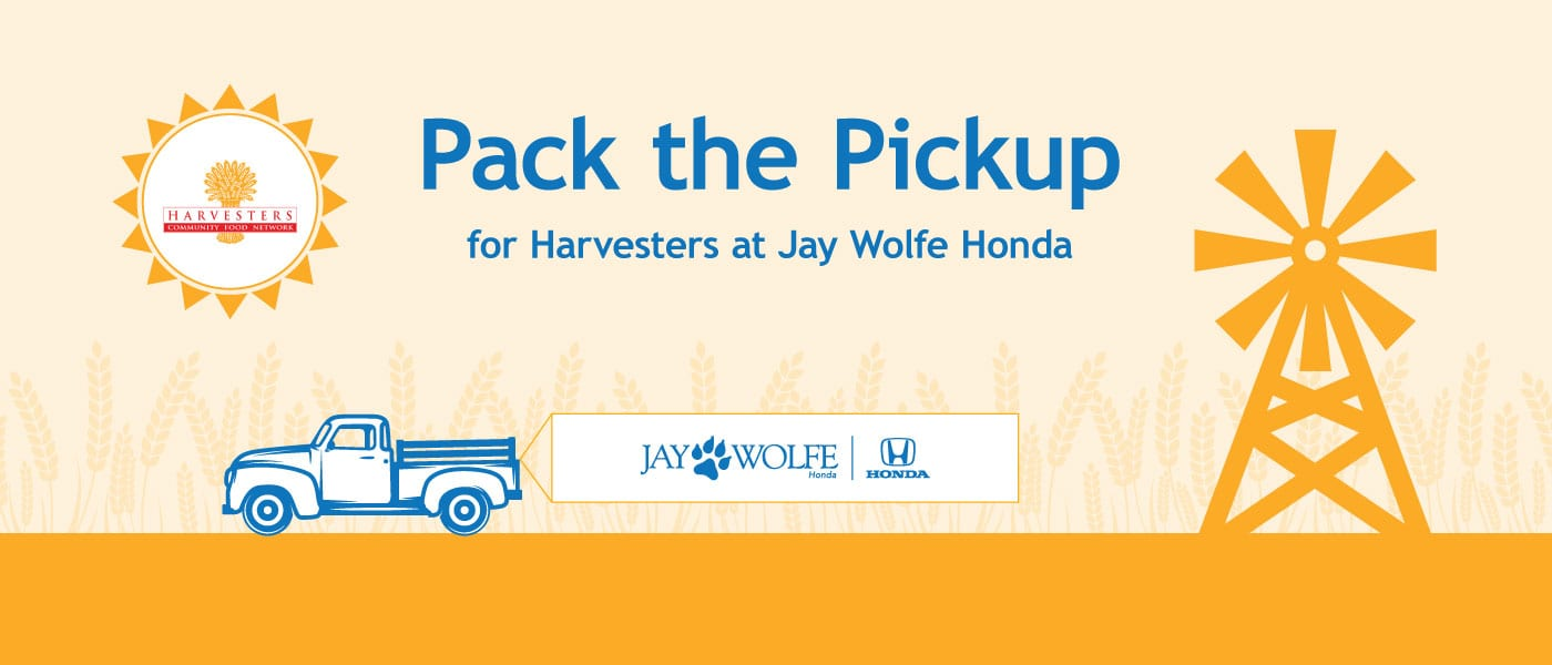 Pack the Pick Up for Harvesters