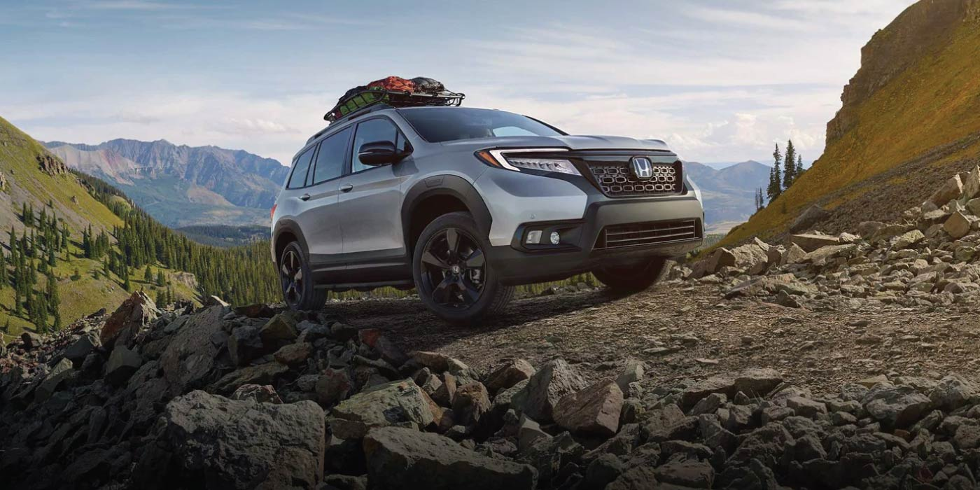 The All-New 2019 Honda Passport