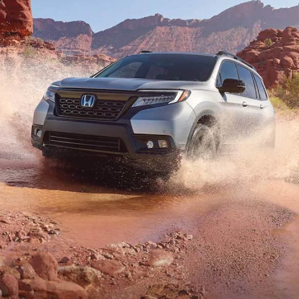 All-New Honda Passport Terrain
