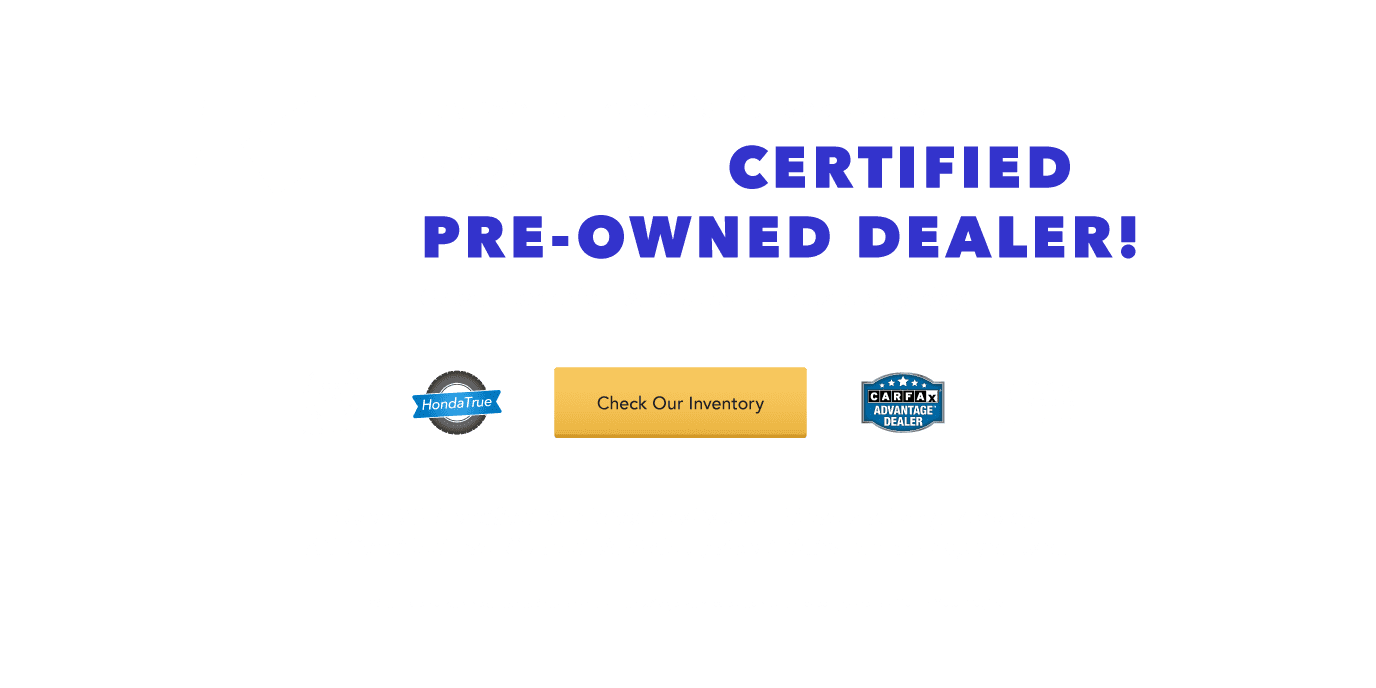 Number One Certified Pre-Owned Volume Leader
