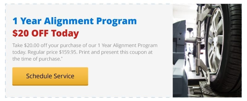 $20 off today on a 1 Year Alignment Program