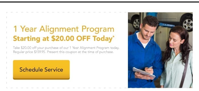 Take $20 off our 1-year alignment program today.