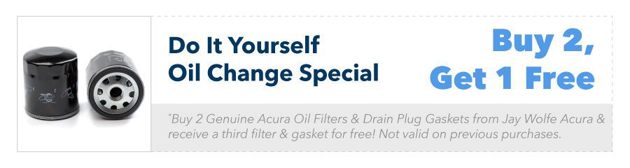 Do It Yourself Oil Change Special